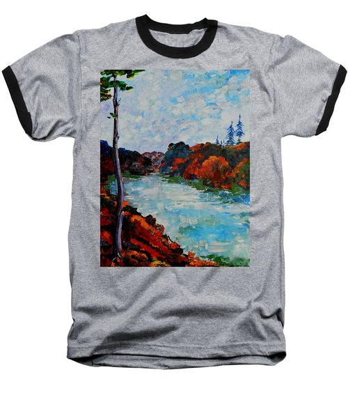 Autumn Landscape Baseball T-Shirt