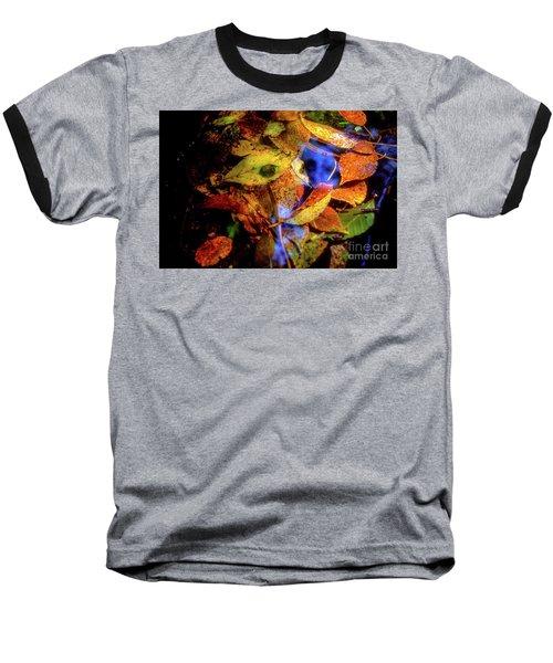Baseball T-Shirt featuring the photograph Autumn Leaf by Tatsuya Atarashi