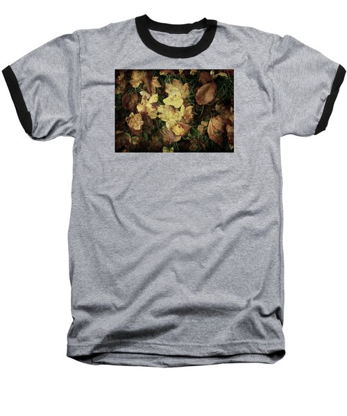 Autumn Leaves Are Falling Down... Baseball T-Shirt by Vittorio Chiampan