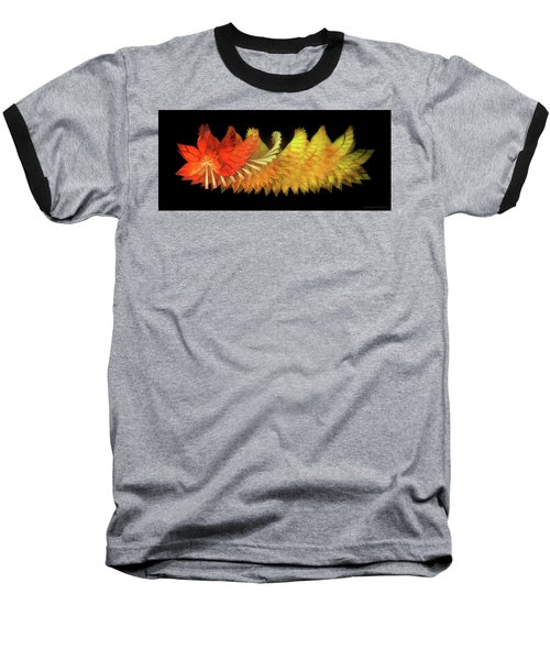 Autumn Leaves - Composition 2.2 Baseball T-Shirt