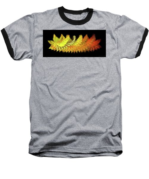 Autumn Leaves - Composition 2.3 Baseball T-Shirt