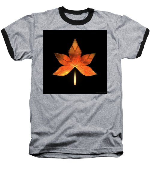 Autumn Leaves - Frame 260 Baseball T-Shirt