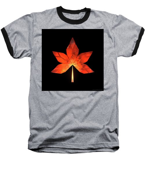 Autumn Leaves - Frame 320 Baseball T-Shirt