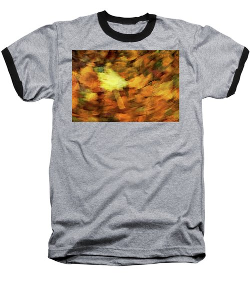 Autumn Leaves Baseball T-Shirt