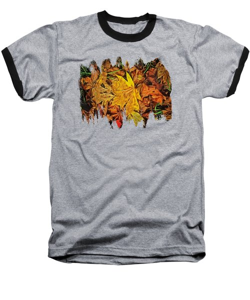 Autumn Leaves Of Beaver Creek Baseball T-Shirt by Thom Zehrfeld