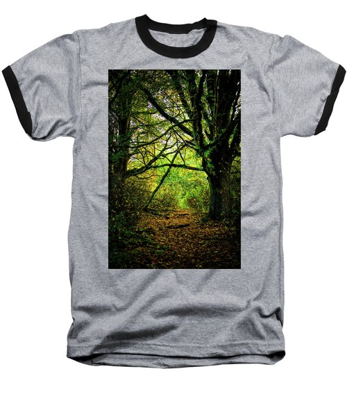 Baseball T-Shirt featuring the photograph Autumn Light by David Patterson