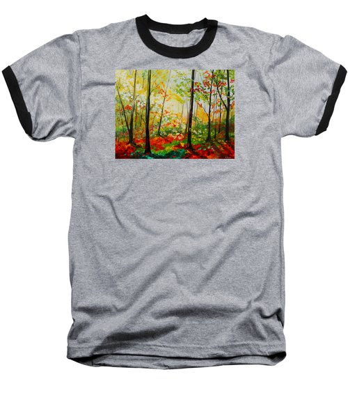 Autumn Light Baseball T-Shirt
