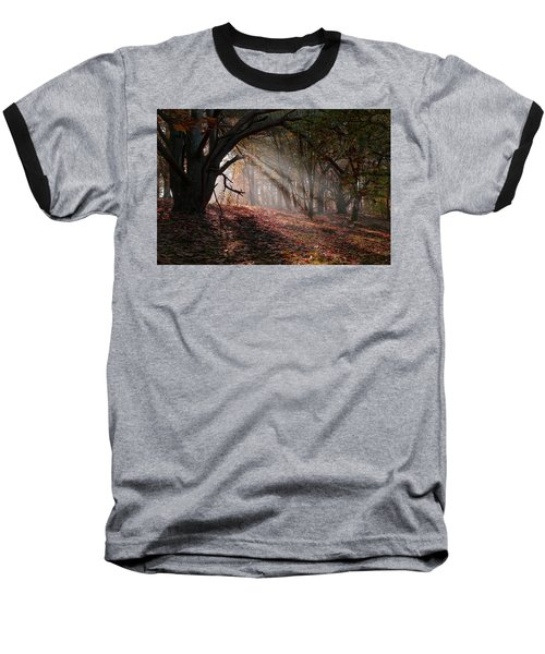 Baseball T-Shirt featuring the photograph Autumn Light  by Scott Carruthers