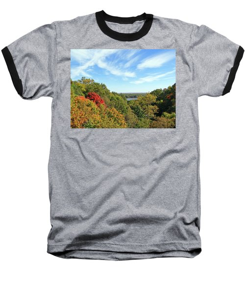 Autumn Lookout Baseball T-Shirt