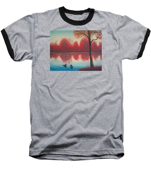 Autumn Loons Baseball T-Shirt