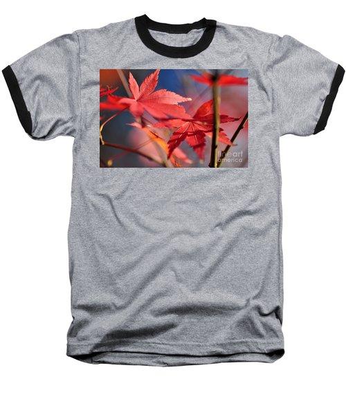 Autumn Maple Baseball T-Shirt