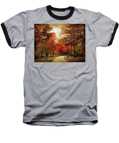 Autumn Maples Baseball T-Shirt