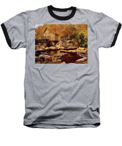 Autumn Mill Baseball T-Shirt by L O C