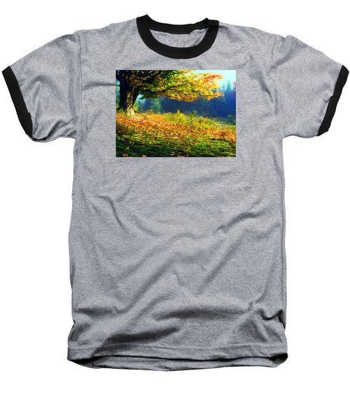 Autumn Mist Baseball T-Shirt