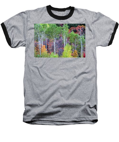 Autumn Mix Baseball T-Shirt