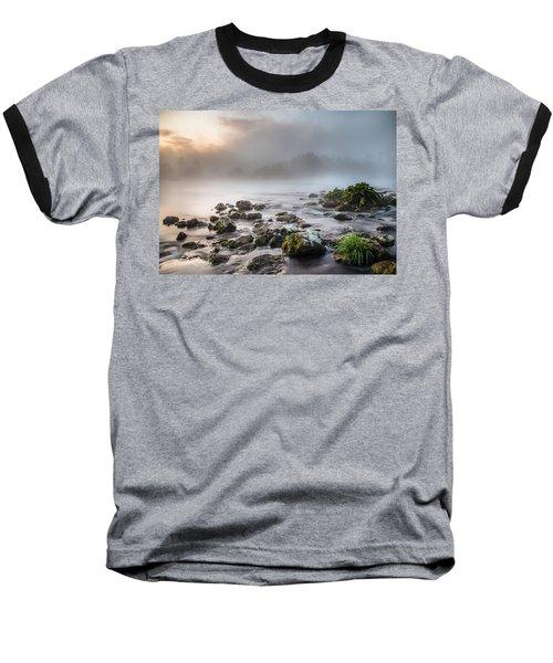 Autumn Morning Baseball T-Shirt