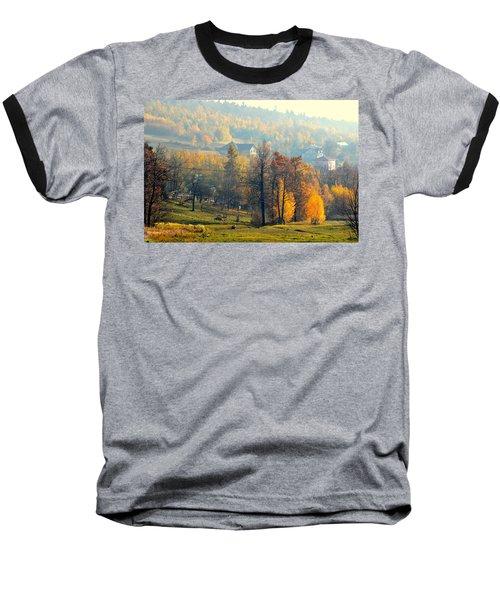 Autumn Morning Baseball T-Shirt by Henryk Gorecki