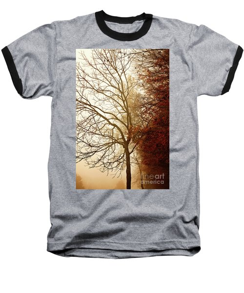 Autumn Morning Baseball T-Shirt