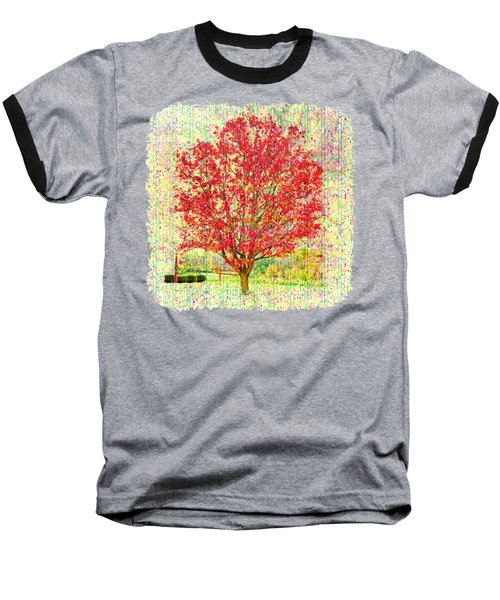 Autumn Musings 2 Baseball T-Shirt by John M Bailey