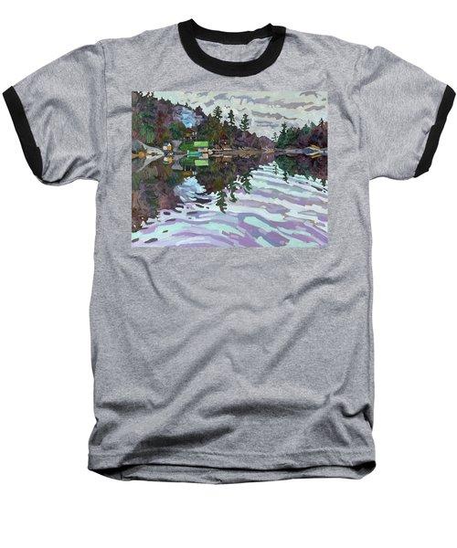 Autumn Narrows Baseball T-Shirt