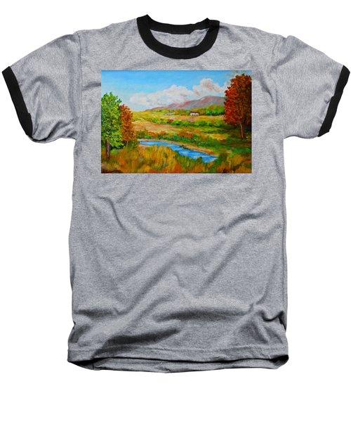 Autumn Nature Baseball T-Shirt