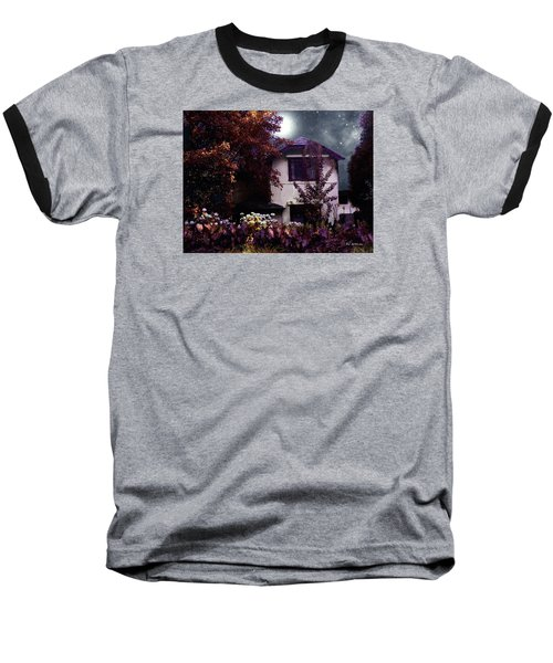 Autumn Night In The Country Baseball T-Shirt