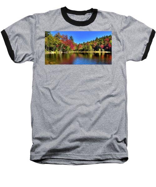 Autumn On 7th Lake Baseball T-Shirt