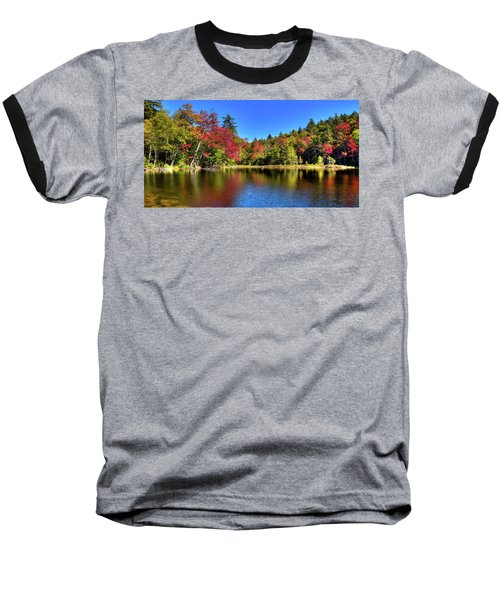 Autumn On 7th Lake Baseball T-Shirt