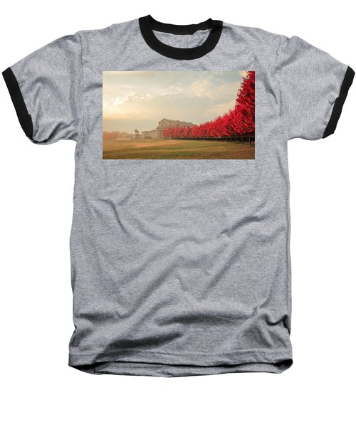 Autumn On Art Hill Baseball T-Shirt
