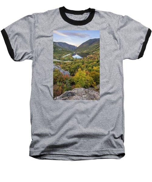 Autumn On Artist's Bluff Baseball T-Shirt