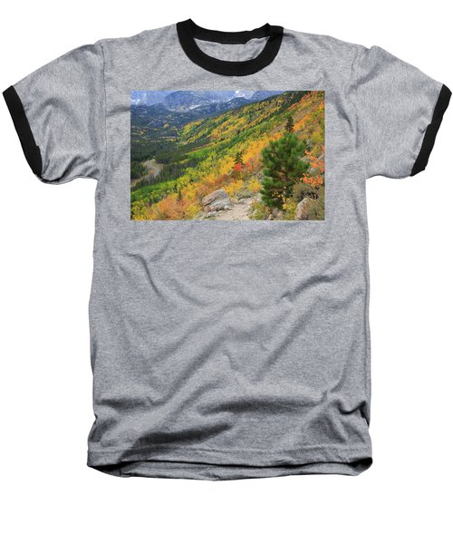 Autumn On Bierstadt Trail Baseball T-Shirt