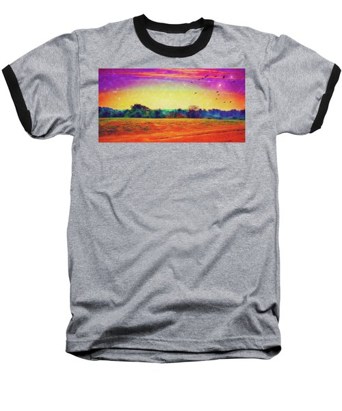 Autumn On Earth Two Baseball T-Shirt