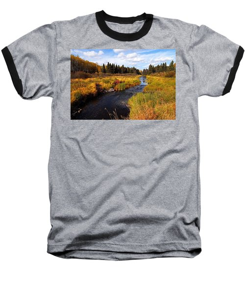 Autumn On Jackfish Creek Baseball T-Shirt