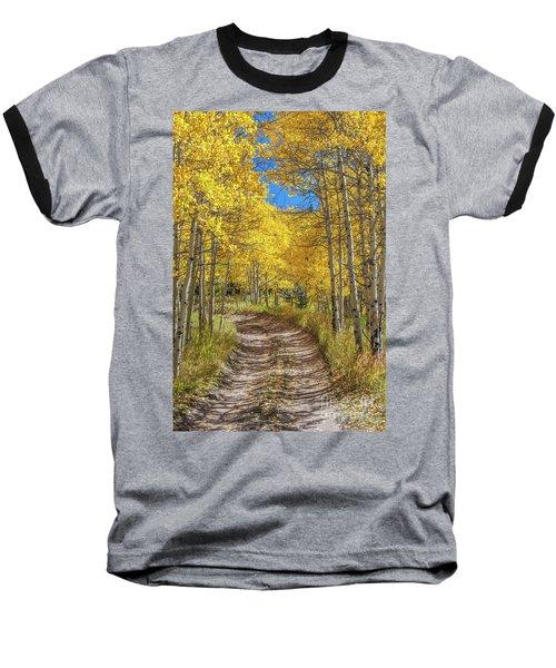 Autumn On Medano Pass Baseball T-Shirt