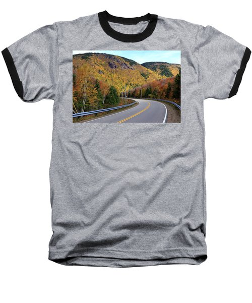 Autumn On The Cabot Trail, Cape Breton, Canada Baseball T-Shirt