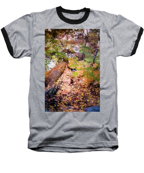 Autumn On The Mountain Baseball T-Shirt