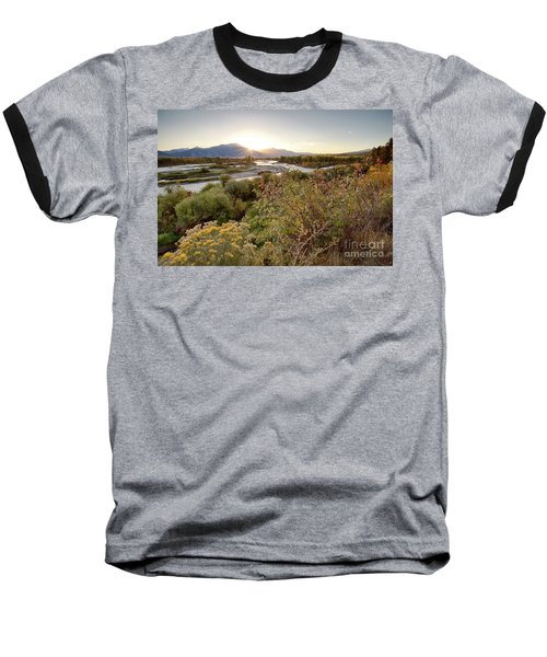 Autumn On The South Fork Baseball T-Shirt