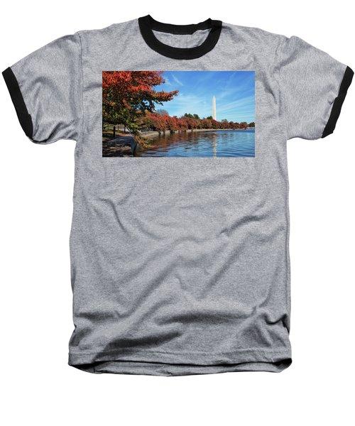 Autumn On Tidal Basin Baseball T-Shirt