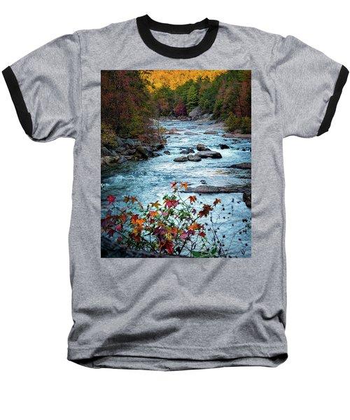 Autumn On Wilson Creek Baseball T-Shirt
