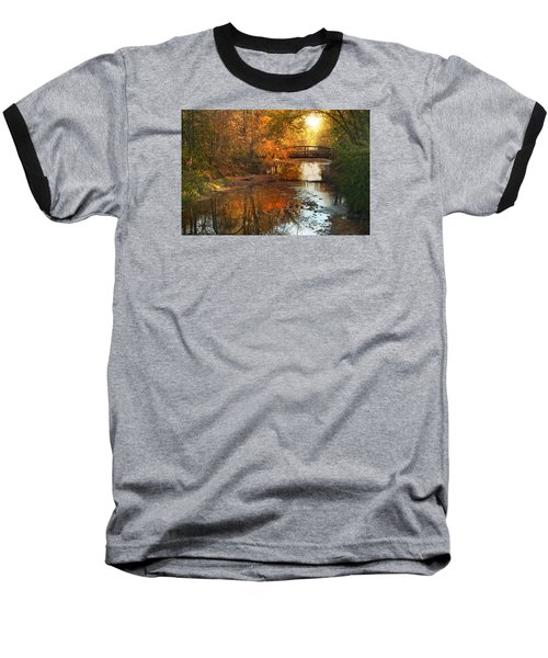 Autumn Over Furnace Run Baseball T-Shirt