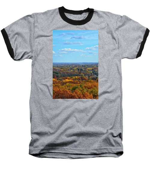 Autumn Overlook Baseball T-Shirt