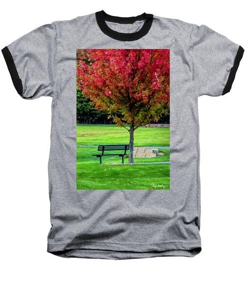 Autumn Park Baseball T-Shirt