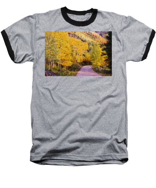 Baseball T-Shirt featuring the photograph Autumn Passage by Lana Trussell