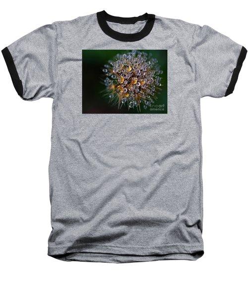 Autumn Pearls Baseball T-Shirt by AmaS Art