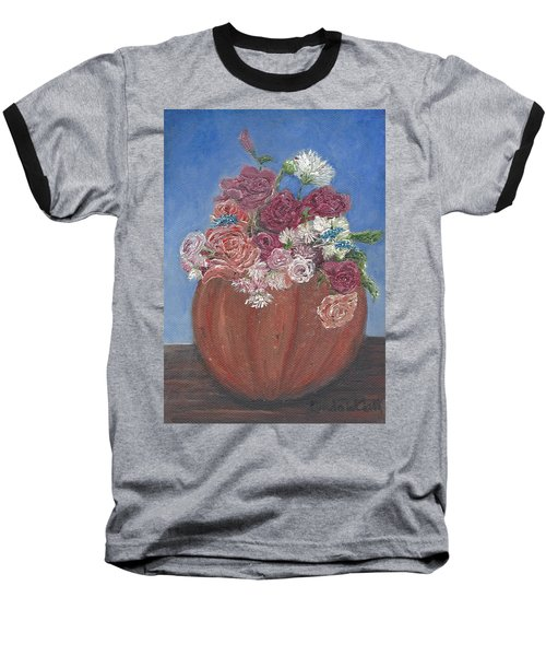 Autumn Petals Baseball T-Shirt