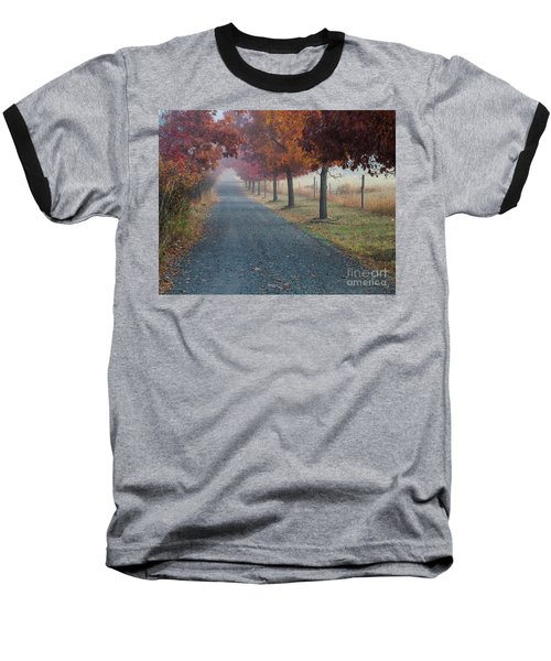 Autumn Portal Baseball T-Shirt