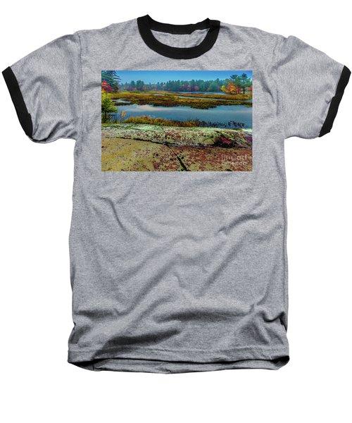 Autumn Rain 2 Baseball T-Shirt