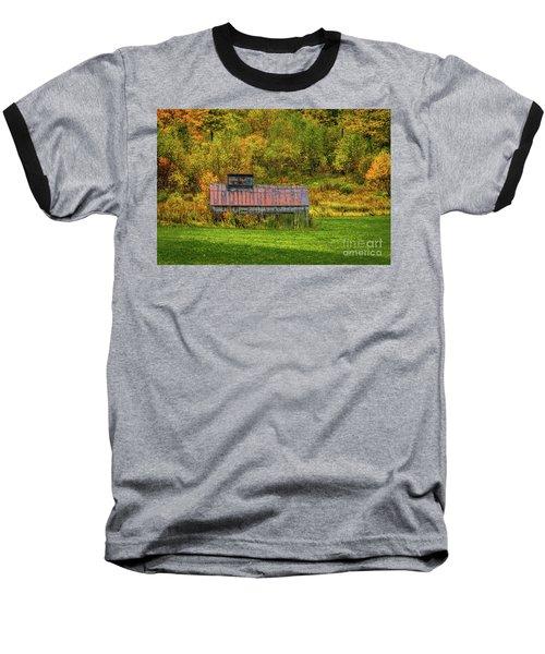 Autumn Rain 3 Baseball T-Shirt