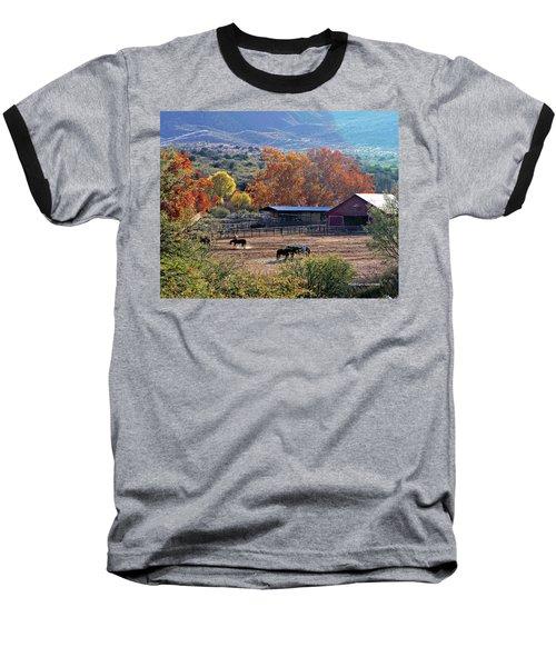Autumn Ranch Baseball T-Shirt