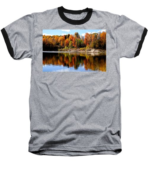 Autumn Reflected Baseball T-Shirt